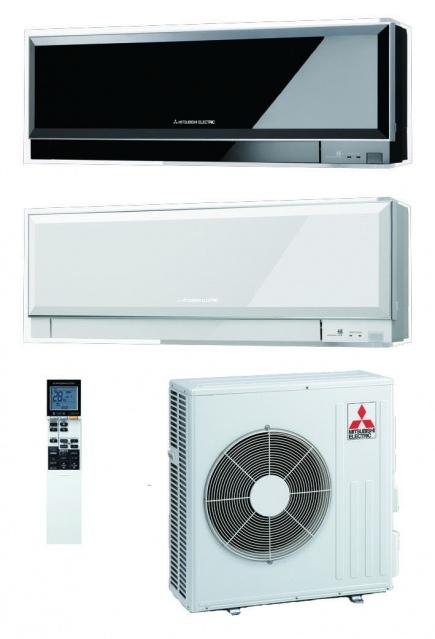 Mitsubishi Electric MSZ-EF25VE белый и черный