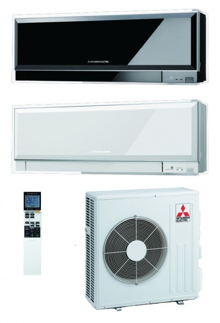 Mitsubishi Electric MSZ-EF42VE белый и черный