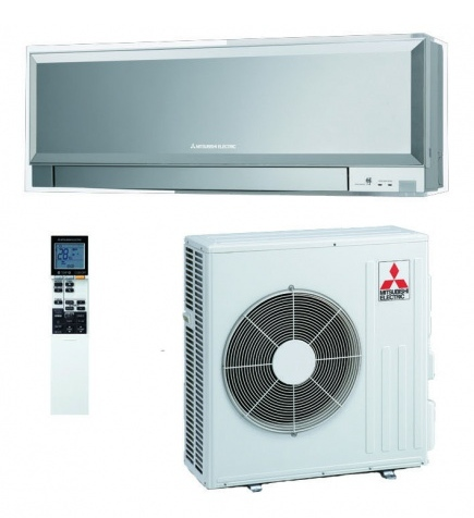 Mitsubishi Electric MSZ-EF25VE silver