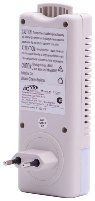 200-XJ Воздухоочиститель-ионизатор с подсветкой Aircomfort